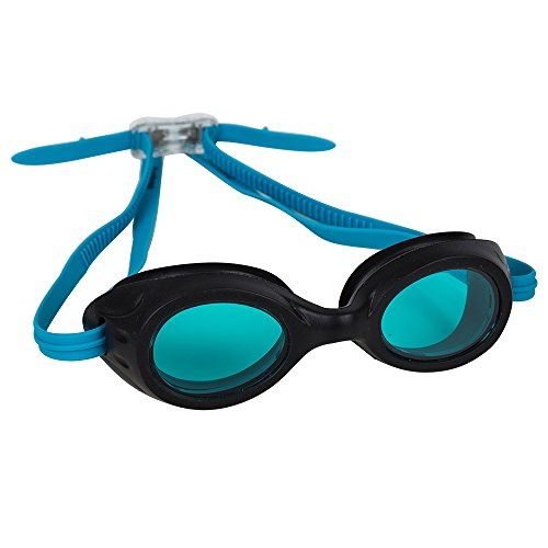 Splaqua Kids Swim Goggles for Boys and Girls - Adjustable Straps, Silicone Eye Seal, UV Protection and Anti Fog Lenses Swimming Goggle - Teal