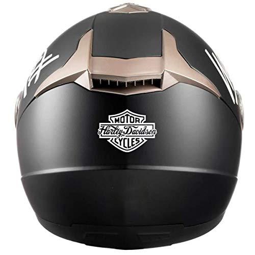 Retro Aufkleber für Helme Harley Davidson Logo