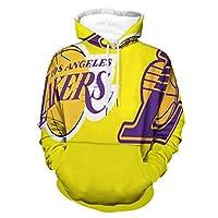 Los Angeles Lakers(ロサンゼルスレイカーズ) アンダーテール サンズ パーカー カジュアル 個性的 プリント 人気 流行り 冬 春 長袖 ヒップホップ 春 秋 冬 男女兼用 キッズ ボーイズ