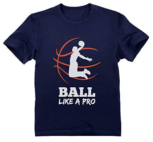 Green Turtle Camiseta para niños Baloncesto Regalos Originales Niños Idea Regalo Jugador Baloncesto Basketball Fans 12A Azul Oscuro