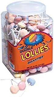 Smarties Double Lollies, 200 Count by Smarties [Foods]