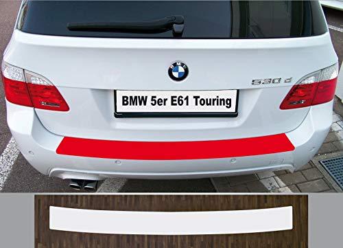is-tuning su misura per BMW Serie 5 E61 Touring 2004 – 2010 pellicola di protezione vernice paraurti trasparente