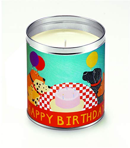 Aunt Sadies Candles HUN015 Clementine Vanilla Scented Candled, White