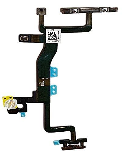 Smartex Powerflex Kable Ersatzteil kompatibel mit iPhone 6S – Integrierten Konnektoren für EIN Aus Schalter, Volume, Mute, Lichtsensor, Proximity Sensor