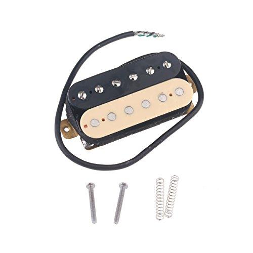 Musiclily 52mm Steg Humbucker Tonabnehmer Pickup für Les Paul Style Gitarre,Zebra