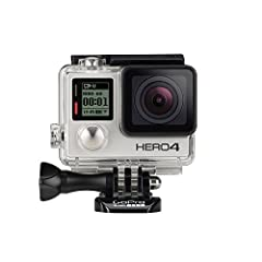 Built in touch display for easy camera control, shot framing and playback Professional 1080P60 and 720P120 video with 12MP photos at up to 30 frames per second Built in wi fi and bluetooth support the GoPro app, smart remote and more Improved camera ...