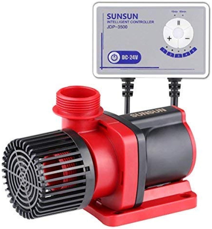 Grech Sunsun JDP3500 Controllable Dc Variable Water Pump 1585GPH with Controller for Marine Freshwater Aquarium Pond Circulation alternative of Jebao DCT3000, DCS3000, DCP3000, DCQ3500