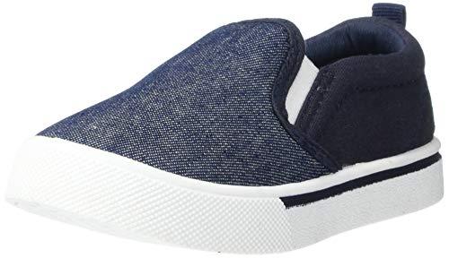 OshKosh BGosh Boys Sneaker, New Navy, 8 Toddler