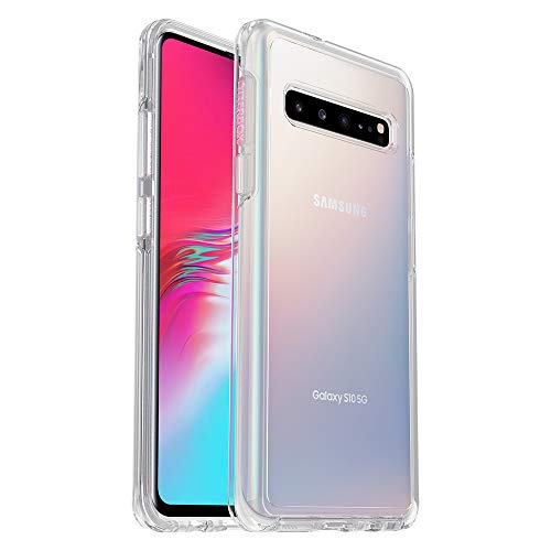 OtterBox Symmetry Clear Series Case for Samsung Galaxy S10 5G (5G VERSION ONLY), Retail Packaging, Clear