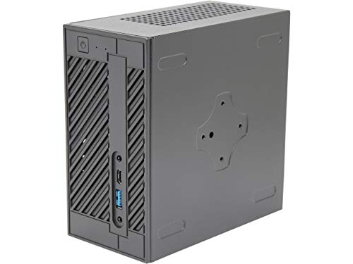 CUK ASRock DeskMini 310W Tiny Desktop (Intel i9-9900, 64GB DDR4 RAM, 1TB NVMe SSD + 2TB HDD, Windows 10 Pro) Professional Mini Small Form Factor PC Computer