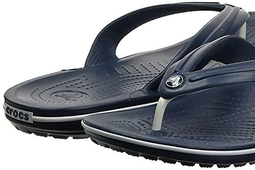 Crocs Crocband Flip, Unisex Zehentrenner, Blau - 8