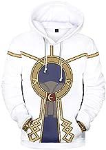 Sudadera con Capucha Fire Emblem 3D Hoodies Cosplay Disfraz 3D Impreso Sudadera con Capucha Cosplay Juego Anime Fire Emblem Robin Pullover Jacket Coat