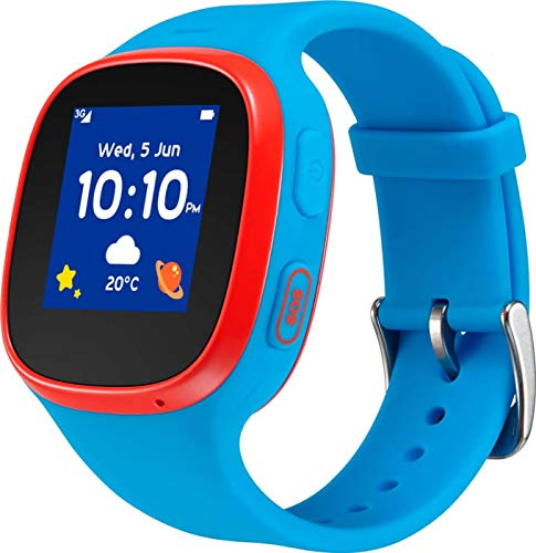 Telekom TCL MT30 Kidswatch (Family Watch) blau-rot