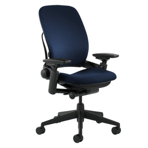 Steelcase Leap Navy Fabric Chair