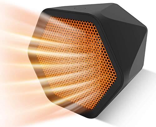 Insta Heater - Mini Estufa Eléctrica Calefactor Portátil con Termostato Ajustable, 12Horas...