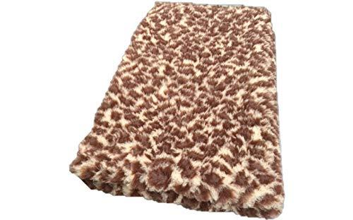 Vetbed -/ Drybed I Motif léopard marron/beige I 100 x 150 cm