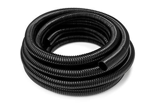 HeRo24 Teichschlauch Spiralschlauch für Bachlauf und Teiche 32 mm 20 m Lang