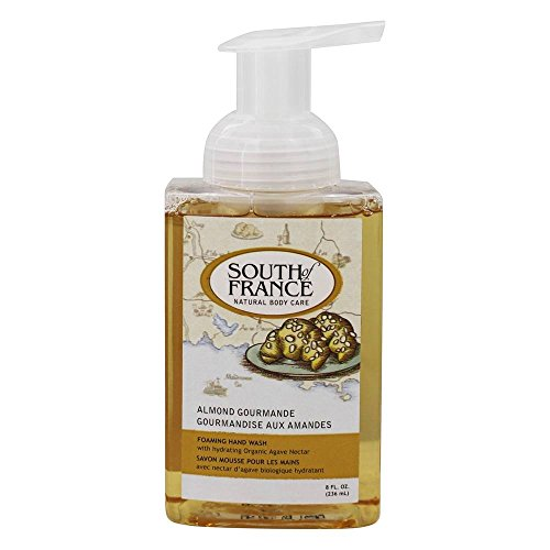 South of France Almond Gourmande Foaming Hand Wash, 8 Fluid Ounce -- 1 each. by South Of France