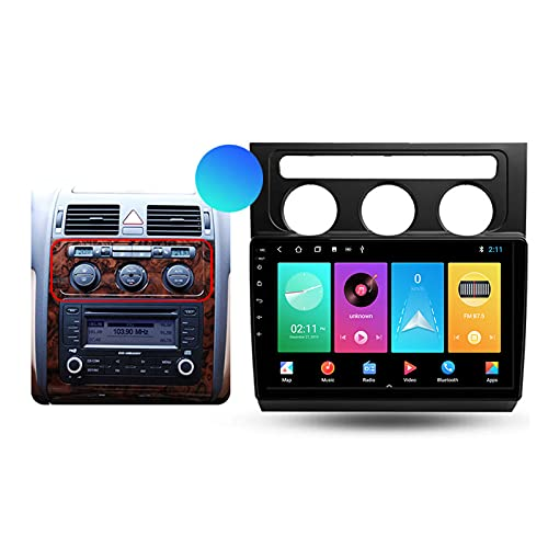 Autoradio Per Volkswagen Touran 1 2003-2010 Android 2 Din Con Bluetooth Per Auto 10.1'' IPS Touchscreen 5G Wifi Auto Info Plug And Play Completo RCA Supporto Carautoplay/GPS/DAB+/OBDII,Type a,M200S
