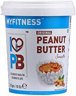 MYFITNESS Original Peanut Butter Smooth 1.02kg (510gm X Pack of 2)