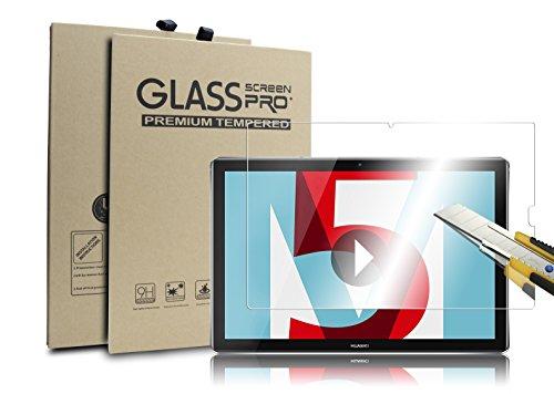 Supremery Display Glas Folie für Huawei MediaPad M5 (10,8 Zoll) Schutzfolie Panzerglas extra Hart gegen Kratzer & Stürze - Blasenfrei HD Clear (hohe Qualität)