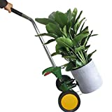 VIMOA Potted Plant Dolly with Flat Free Wheels Potted Plant Mover for Garden Potted Flower Trees