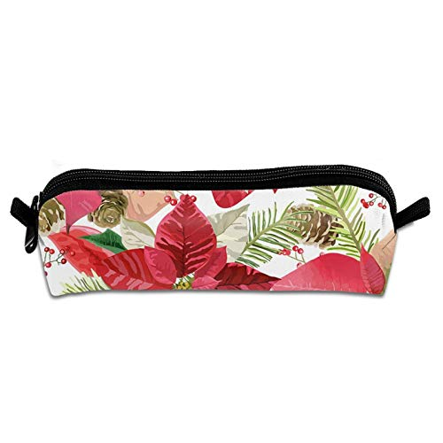 Maja Shop Zippered Pen Pouches Pizza Pattern Pencil Cases Small Cosmetic Bag