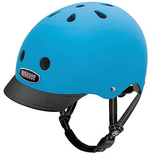 Nutcase - Street, Fahrradhelm für Erwachsene, Blau (blau), Gr. M (56-60 CM)