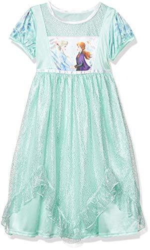 Disney Girls' Little Fantasy Nightgown, Frozen Sisters - Frozen 2, 6