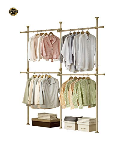 PRINCE HANGER | Premium Wood Double 2 Tier Hanger | Clothing Rack | Closet Organizer