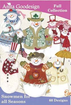 Anita Goodesign Snowmen for All Seasons