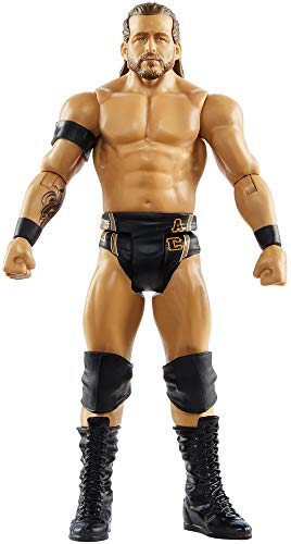 WWE MATTEL Adam Cole Action Figure in 6-inch Scale with Articulation & Ring Gear (GTG08)