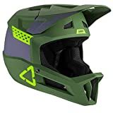 Leatt casque mtb 1. 0 dh casco de bici, unisex adulto, verde fluor, large