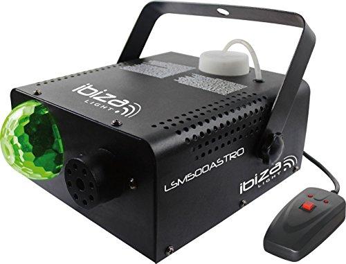 Ibiza 15-1312 2-in-1 500W Nebelmaschine mit Eingebautem Astro Lichteffekt