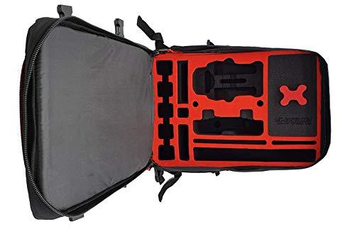 MC-CASES® Rucksack für DJI Mavic Air 2S oder Air 2 - Standard oder DJI Smart Controller - Extrem komfortabel - Viel Platz