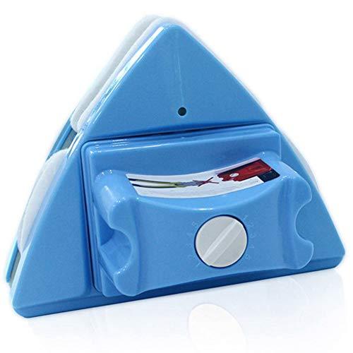 DJG Magnetische Fensterputzer, Beidseitiger Fensterreinigung Wischer, Anti-Pinch Einstellbare magnetische Reinigungsbürste, Geeignet für Badezimmer Küche Schlafzimmer