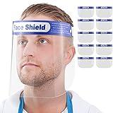 Blumax Gesichtsschutz Zertifiziert - Visier aus Kunststoff - Face Shield - transparentes Gesichts...