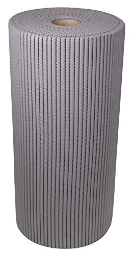 ID Mat SMRL06515 Tapis Multi-Usages Mousse PVC/Polyester Gris Anthracite 1500 x 65 x 0,7 cm