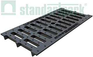 Standartpark - 8 inch ductile cast iron grate slotted