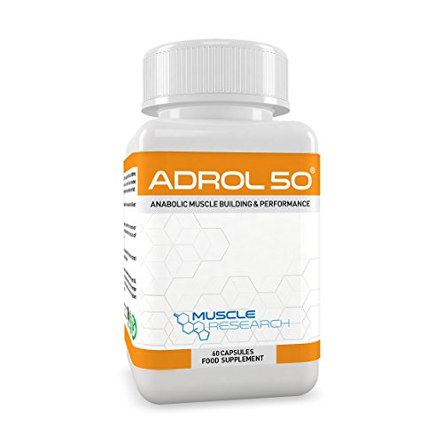 Muscle Research ADROL 50 - Powerful Bodybuilding Supplement - Advanced...