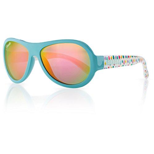 SHADEZ Trendy Mädchen Sonnenbrille blau