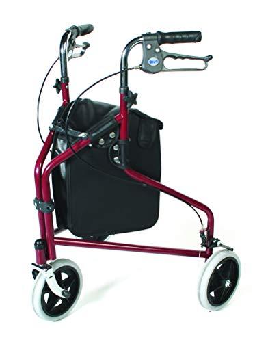 Patterson Medical - Andador 3 ruedas frenos bloqueables