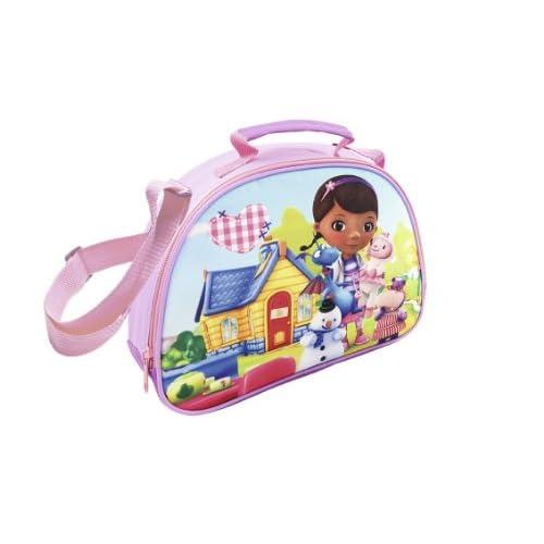 Joy Toy Disney Dottoressa Peluche 116303 - Doc McStuffins Borsa a Tracolla. 26X8X20 cm