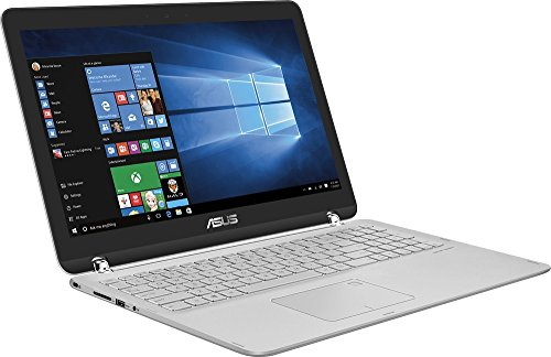 2017 Asus Q504UA 2-in-1 15.6' Full HD Touchscreen Laptop, Intel Core i5-7200U 2.3GHz, 12GB DDR4 RAM, 1TB HDD, Backlit Keyboard, WIFI, Bluetooth, HDMI, Win10-Silver
