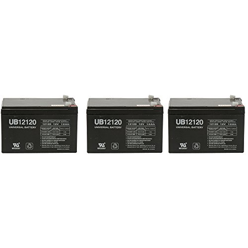 10 Pack Brand Product Mighty Max Battery 12V 12Ah F2 Compatible Battery for APC SU1000RMNET SU1000VS