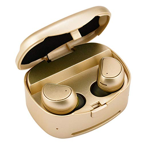 PXCAO Bluetooth-oordopjes draadloos, Bluetooth hogedrukreiniger, handsfree mini-headset met microfoon