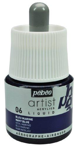 Pébéo 317006 - Material para Pintar con aerógrafo, Color Azul