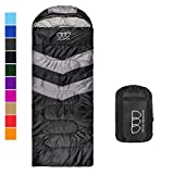 Sleeping Bag for Indoor and Outdoor Use - Great for Kids, Boys, Girls, Teens, Adults. Ultralight and Compact Bags for Sleepover, Backpacking, Camping