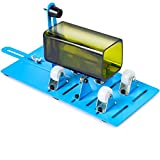 Glass Bottle Cutter Kit for Cutting Square and Round Oval Bottles, Glass Bottle Cutter DIY Machine for Cutting Wine Beer Liquor Whiskey Alcohol Champagne Bottles and Mason Jars with Fixing Rubber Ring