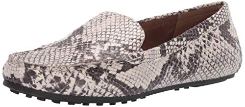 Aerosoles Women's Driving Style Loafer, Natural Snake, 9 W US